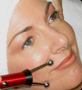Microcurrent facial with the Y probe